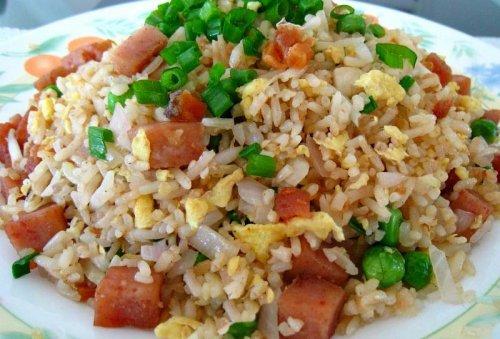 Arroz integral con pescado - Arroz con pescado y verduras ...